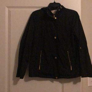 Michael Kors black rain jacket